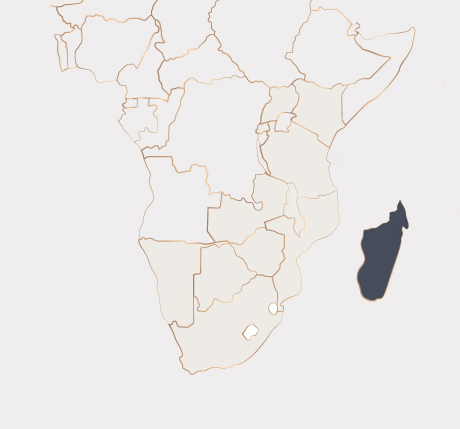 Africa Map - Madagascar