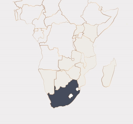Africa Map - South Africa