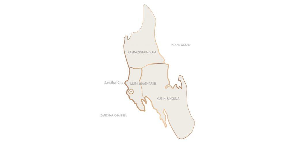 Zanzibar Map